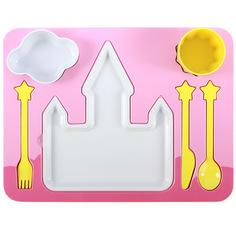 """Поднос-сервиз для ребенка """"Princess"""" Doiy"""