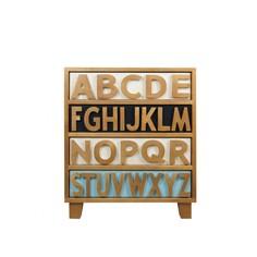 "Комод ""Alphabeto Birch"" Cosiness"