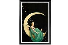 "Арт-постер ""Фиби на луне"" Object Desire"