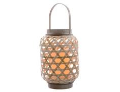 Бамбуковый светильник с встроенной  LED-свечой Polkadot Store