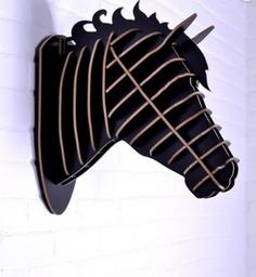 """Настенный декор """"Лошадь"""" Mango"""