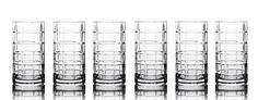 """Набор стаканов для воды """"Scacchi"""" Mateo"""