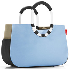 "Сумка ""Loopshopper m patchwork pastel blue"" Reisenthel"