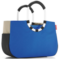 "Сумка ""Loopshopper m patchwork royal blue"" Reisenthel"