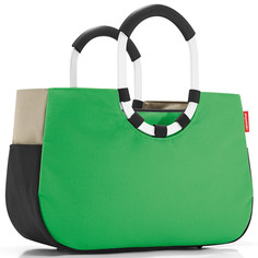 "Сумка ""Loopshopper m patchwork green"" Reisenthel"