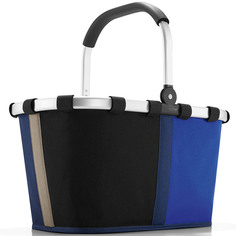 "Корзина ""Carrybag patchwork royal blue"" Reisenthel"