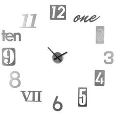 """Часы настенные """"Numbra"""" алюминиевые"""