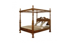 Кровать с решёткой без матраца Satin Furniture
