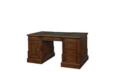 Стол письменный зелёная кожа Satin Furniture