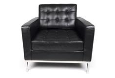 """Кресло """"Knoll"""" Черный Icónico"""