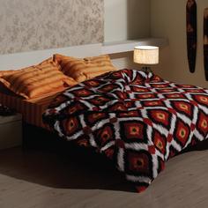 """Комплект постельного белья """"Ikat Orange"""" Deepot"""