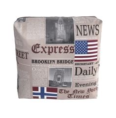 "Декоративная подушка ""New York Times Beige"" Between Home"