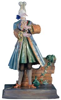 """Скульптура """"Крыс Аристократ """" Императорский Фарфоровый Завод"""