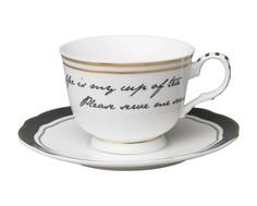 "Набор из двух чашек с блюдцами ""My cup of tea"" Molly Marais"
