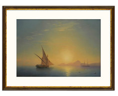 Картина Aivazovsky, Ivan Konstantinovich (1817-1900) Muzante