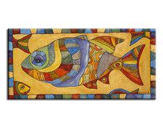 "Картина ""Орнаментальная рыбка"" Muzante"