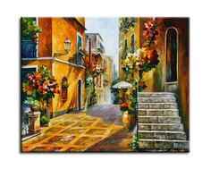 """Картина """"Солнце Сицилии"""" Muzante"""