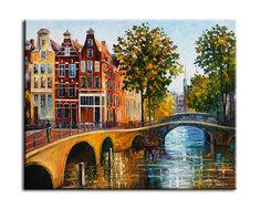 "Картина ""Врата в Амстердам"" Muzante"