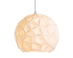 Подвесной светильник-шар из бисквитного фарфора Polkadot Store