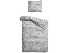 """Комплект постельного белья """"Косичка серый"""" Snurk"""