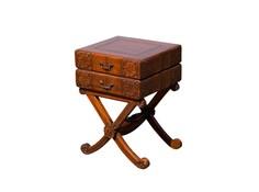 """Столик резной """"Книги"""" Qualitative Furniture"""