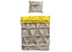 """Комплект постельного белья """"Оригами желтый"""" Snurk"""