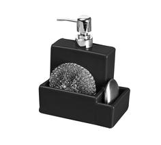 Дозатор для мыла с мочалкой Colibri