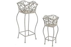 """Набор столиков для цветов """"Sonia"""" (2 шт) Bizzotto"""