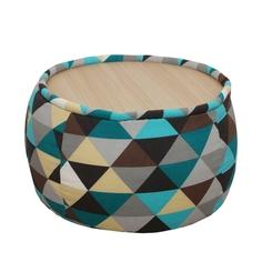 Круглый пуф со столиком Fresca Design