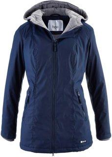 Удлиненная куртка на межсезонье (черный) Bonprix