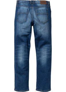 Классические прямые джинсы-стретч, cредний рост N (темно-синий) Bonprix