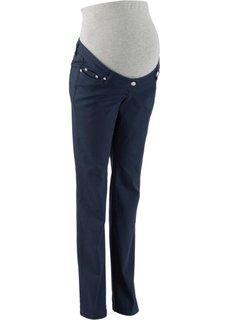 Мода для беременных: брюки с прямыми брючинами, cредний рост (N) (белый) Bonprix
