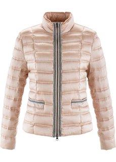 Легкая куртка-пуховик с аппликацией (черный) Bonprix
