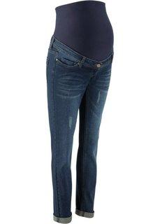 Для будущих мам: джинсы Boyfriend (синий «потертый») Bonprix