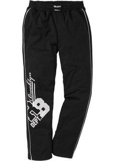 Трикотажные брюки (темно-красный) Bonprix