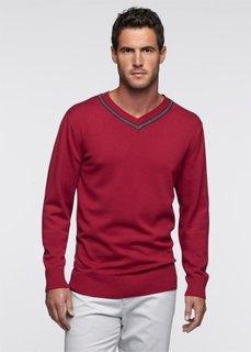Пуловер (лазурный) Bonprix