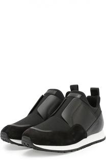 Комбинированные кроссовки Sportivo с эластичной вставкой Tod's