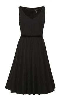 Платье без рукавов с контрастным поясом Marc Jacobs