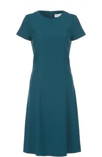 Приталенное платье с укороченным рукавом HUGO