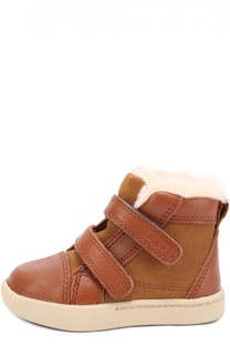 Комбинированные ботинки с застежками велькро UGG Australia