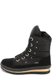 Текстильные ботинки с кристаллами Swarovski Jog Dog