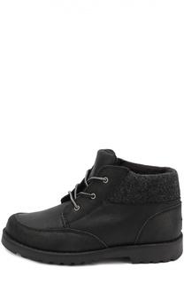 Кожаные ботинки на шнуровке UGG Australia
