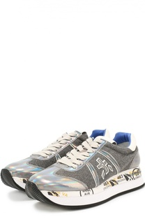 Комбинированные кроссовки Conny с подошве с принтом Premiata
