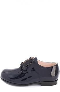 Лаковые дерби на шнуровке Il Gufo