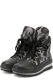 Текстильные ботинки с принтом Jog Dog