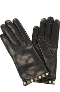 Кожаные перчатки Rockstud Rolling Valentino