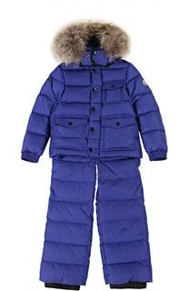 Комплект из куртки и комбинезона Moncler Enfant