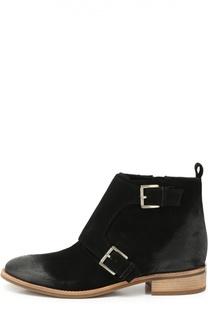 Замшевые ботинки Adams с ремешками Michael Michael Kors