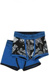 Комплект из двух хлопковых боксеров Marc Jacobs