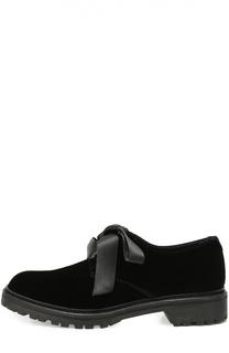Текстильные ботинки Army на лентах Saint Laurent